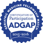 geriatrics fellowship